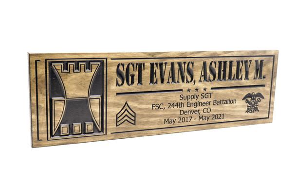 Supply SGT FSC-244th Engineer Battalion Denver Colorado