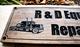 Garage Sign with 2  truck & engine (CWD-385)
