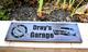 Garage Sign feat. 1972 chevy Nova