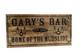 Home Bar  Sign with shamrock or other artwork, pub sign, beer stein