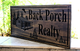 Cabin-Lake house-Vacation home sign