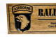 United States Army Rangers Sign-US Army-Navy Sign-Marines Sign-Custom sign-Personalized Wood Sign-Veterans Day Gift-(CWD-660)