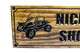 dune buggy sign