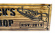 bass boat wooden sign