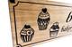 Cupcake bakery Kitchen Sign, cupcake wooden sign, home bakery sign, custom bakery wood sign, Personalized Wood Sign