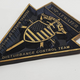 Federal  Prison Emblem with USP ATWATER - Federal Bureau of Prisons sign