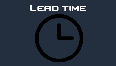 lead time for signs