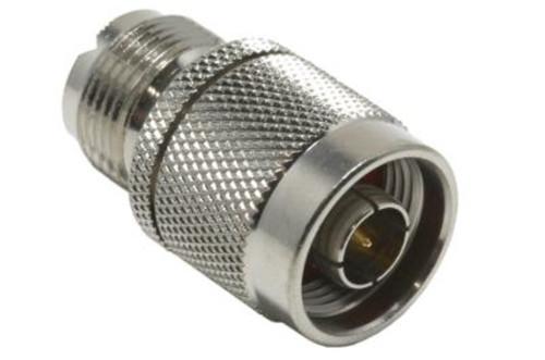 N Male to UHF Female Adapter