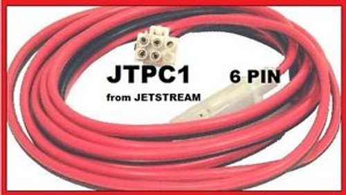 Jetstream JTPC1 - DC Power Cable, 10 ft, w/ 6 pin molex, 10GA wire with 30A fuses