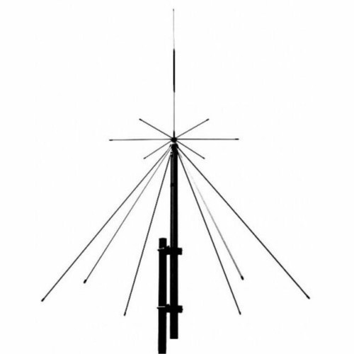 Comet DS-150S - Antenna, Base Discone, Receive 25-1300 MHz, TX: 6M, 2M, 440, 900, 1200 MHz, 56 in. Tall, w/65 ft. Coax