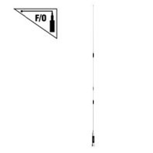 Comet CSB-790A - Antenna, Mobile, Fold-over, PL259 Base, Chrome, 2m, 70cm, 62 in. Height