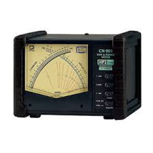 Daiwa CN-901HP3 - SWR/Wattmeter, 1.8-200 MHz, 3,000 W Max., Cross Needle, UHF Female, SO-239, 13.8 Vdc