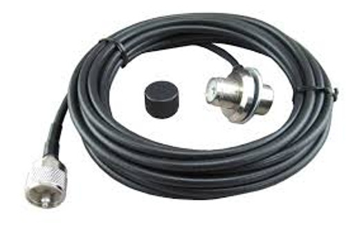 Comet CR-5M - Cable Assembly, Mobile, Trunk Lip,  SO-239, 16ft, 9in. Coax Cable, PL-259