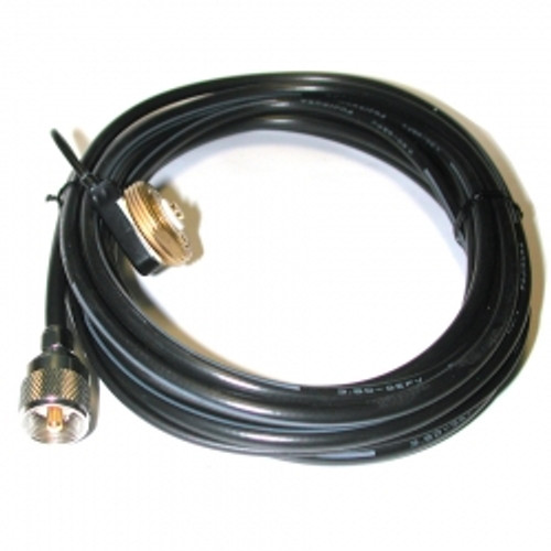 Comet CK-3NMO - Cable Assembly, NMO Base, 16.9 ft. Cable Length, Includes 18 in. RG-188 Pass Through Cable, PL-259
