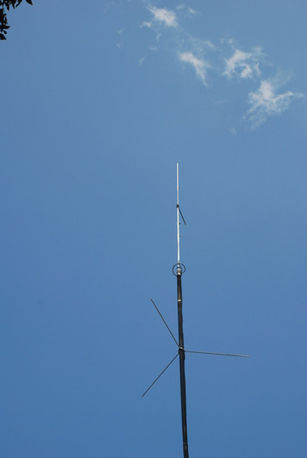 Cushcraft ARX-2B - Antenna, Vertical, Ringo, Ranger II, Aluminum, 1,000 W, 2 meters, 14.0 ft. Height
