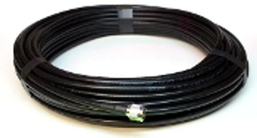 Coaxial Cable Assembly, LMR-400, PL-259, 50ft Length