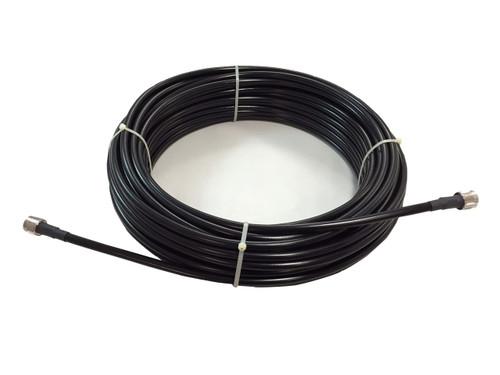 100' LMR-240 solid Coax Cable with PL-259 Connectors