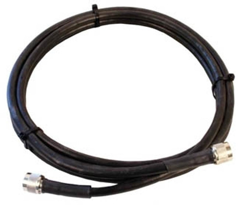 3' LMR-240 solid coax cable w/ PL-259s connectors