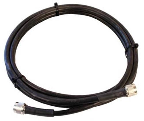6 ft LMR-240 Solid Coax Cable w/ PL-259 Connectors