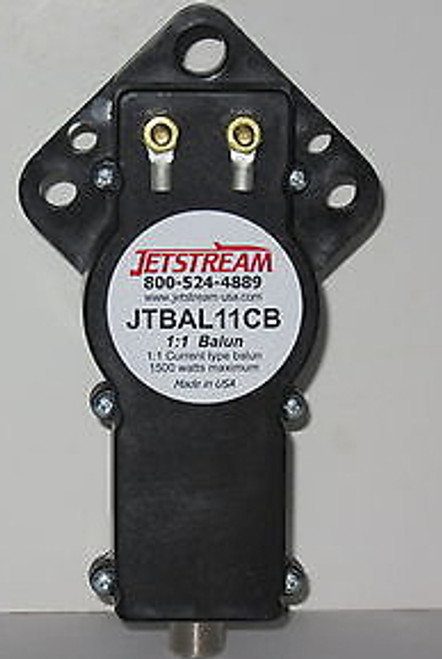 Jetstream JTBAL11CB - 1:1 Current Balun, 3.5-30 MHz, SO-239
