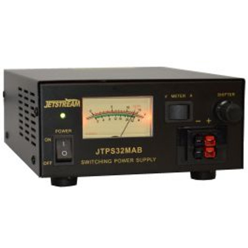 Jetstream JTPS32MAB - 30 Amp / 12 Volt Power Supply w/ Power Pole and Binding Posts