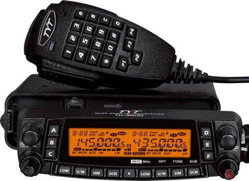 TYT TH-9800 PLUS Version Quad Band 10M/6M/2M/70CM Cross-Band 50W Mobile Transceiver