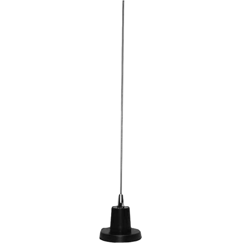 MFJ-1728B - Antenna, Mobile, 5/8 Wave 2 Meter, 1/4 Wave 6 Meter, 300 W PEP, 49 in. High, NMO Magnetic Mount, 12 ft. Coax
