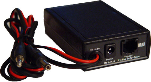 MFJ-5124Y - Interface Cable, 36 in., Yaesu Radio to 991B/993B/994B Tuner, Conversion Box Included, DC from radio