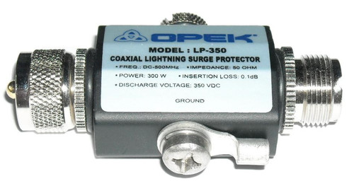Opek LP-350B Coaxial Lightning Surge Protector