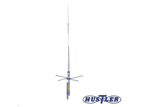 Hustler G6-144B-Antenna, Vertical, VHF Base, 2 meters, Fiberglass/Aluminum, 600 W, 8.15 dBi, SO-239, 9.75 ft. Height
