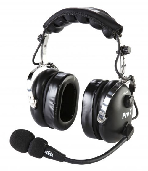 Heil Sound Pro 7 Black Headset, Dynamic Mic, Over-Ear, Stereo, Requires AD-1 Adapter