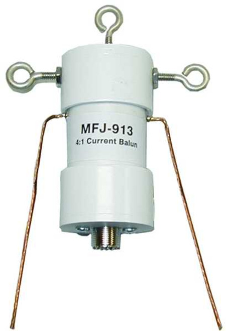 MFJ-913 - 4:1 Current Balun, 300 Watts, 1.8 -30 MHz