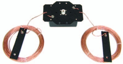 MFJ-2012 Dipole Antenna, Power-Lite, Off-Center Fed, Multi-Band, Non-Resonant, 1,500 W, 14 AWG, 67.0 ft. Length, Kit