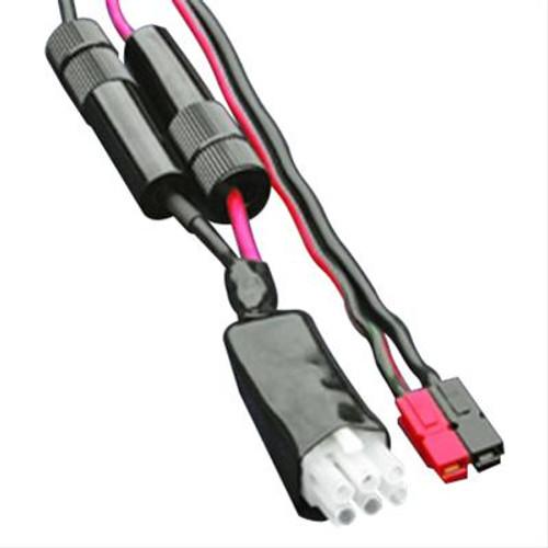 MFJ-5535M - Replacement DC Power Cable, Molex, 6-pin, Powerpole, AGC Fuse, 8 ft. Cable Length