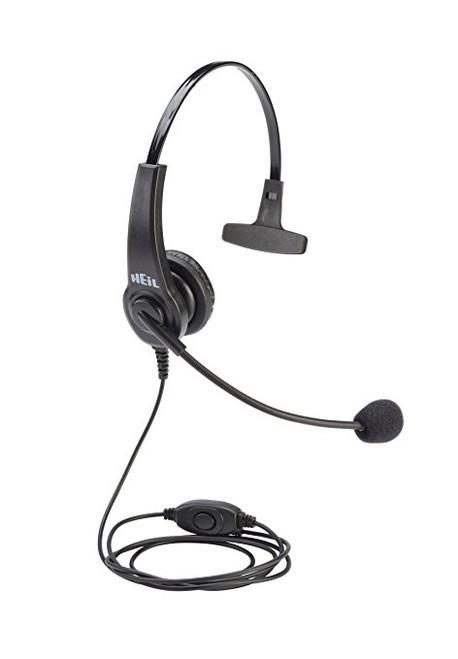 Heil Sound HTH-K - HT Boom Mic Headset For Handie Talkie, Single Side On Ear Headphone, Kenwood/Baofeng 2-pin
