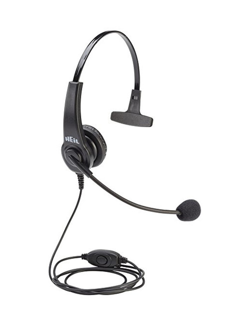 Heil Sound HTH-I - HT Boom Mic Headset For Handie Talkie, Single Side On Ear Headphone, for ICOM with 2-pin connector