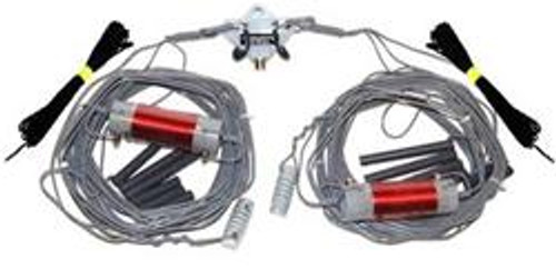 Alpha Delta DX-CC Parallel Dipole Antenna, Multi-Band, Resonant, 1,000 W PEP/CW, 250 W RTTY, 80, 40, 20, 15, 10 meters, 82 ft. Total Length