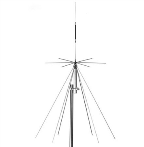 TRAM 1411 BROAD BAND DISCONE/SCANNER BASE ANTENNA 25-1300 MHZ