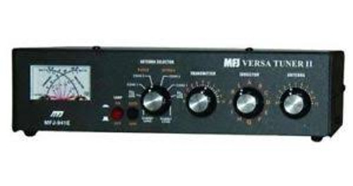 MFJ-941e - Antenna Tuner, Versa Tuner II, Desktop, Manual, 1.8 - 30 MHz, 300 W, Switched, External