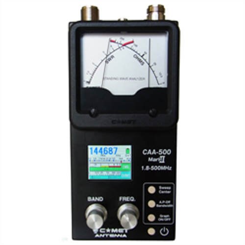 Comet CAA-500MARKII SWR/Impedance Antenna Analyzer