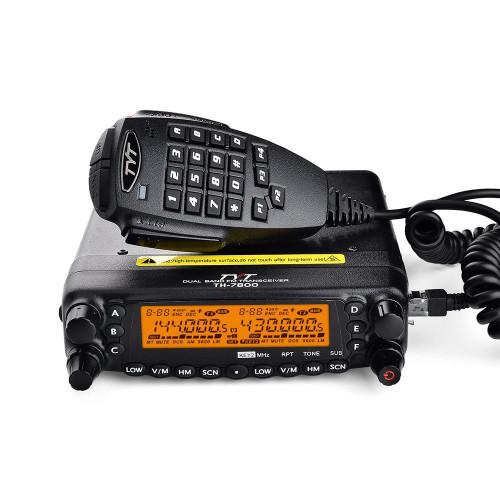 TYT TH-7800 Dual Band 50 Watt Ham Radio Mobile Transceiver, Amateur, Ham Radio