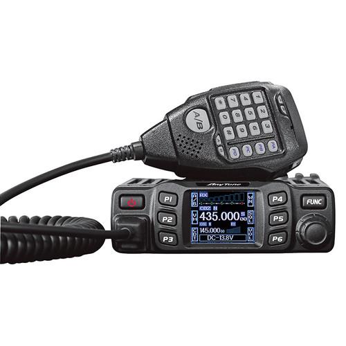 Anytone AT-778UV 2M/70CM Mobile Ham Radio 25 Watt 250 Ch. VHF/UHF