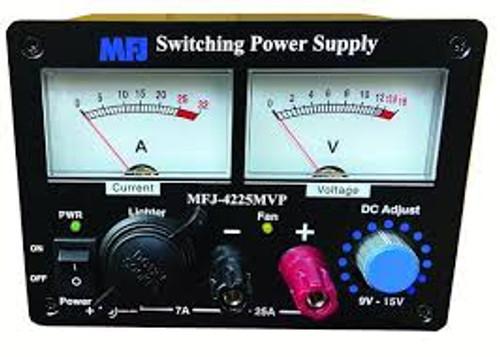 MFJ-4225MVP 25 AMP Switching Power Supply