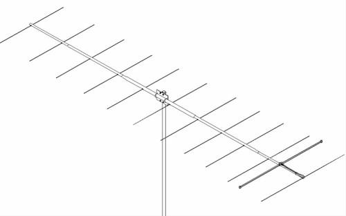 M2 - 2M12, 2 Meter (144-148 MHz) Ham Radio Yagi Antenna