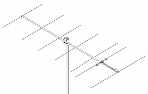 M2 - 2M7X, 2 Meter (144-148 MHz) Ham Radio Yagi Antenna