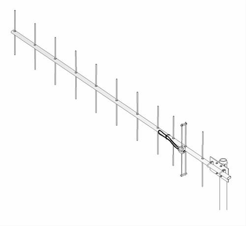 M2 - 420-50-11, 70 cm (420-450 MHz) Ham Radio Yagi Antenna