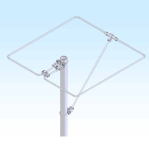 6 Meter (50-50.3 MHz) Loop Base Antenna