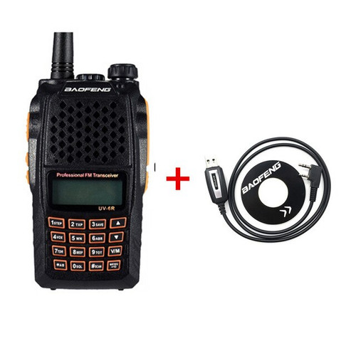 Baofeng UV-6R - Dual Band HT (Portable) 5W Transceiver, Ham, Two Way, 28CH LCD Display