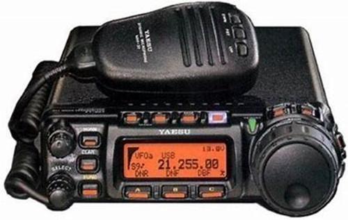 Yaesu FT-857D HF-VHF UHF Al Mode with YSK 857 Cable