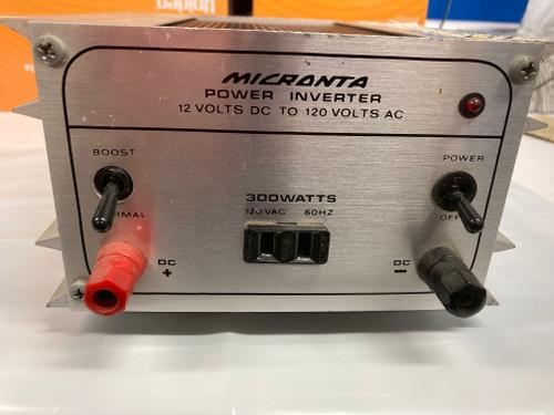 NOS Micronta 300 watt 12vDC to110 AC Power inverter